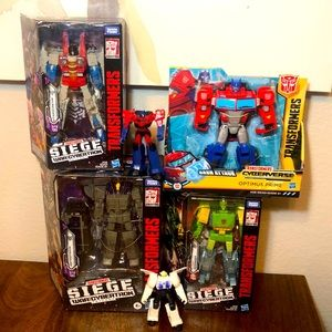 Transformers bundle Transformers War for Cybertron